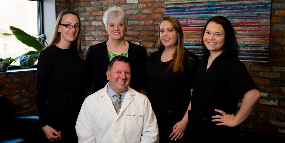 Ashlee, Rene, Lisa, Madelyn, & Dr. Healy